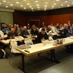 Die Delegiertenversammlung im Konferenzraum am 05.11.16